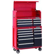 tool chest and cabinet set craftsman 41 wide 16 drawer soft close tool chest and rolling