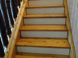 staining pine stair treads tempting thyme staining stairs noir