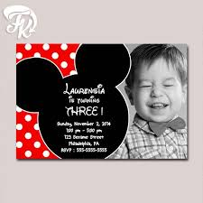 the 25 best mickey mouse birthday invitations ideas on pinterest