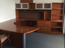 Used U Shaped Desk Gunlocke Executive U Shaped Desk In Our Showroom Pinterest