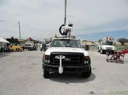 2008 ford f550 4x4 altec at35g 40ft bucket truck 29030 trucks