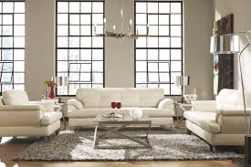 Intricate White Living Room Set Manificent Decoration White Living - White leather living room set