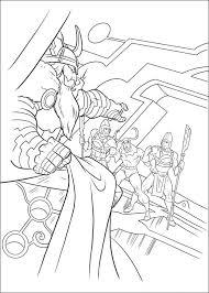 Dessin de Thor á imprimer 10