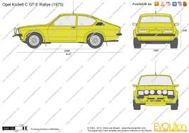 opel kadett 1975 the blueprints com vector drawing opel kadett c gt e rallye