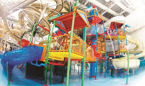 the humungous world waterpark at the west edmonton mall