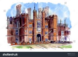 history british architectural styles tudor architecture stock