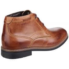 rockport classic break lace up chukka men u0027s brown boots free