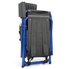Lightweight Backpack Beach Chair The Backpack Cooler Chair Hammacher Schlemmer