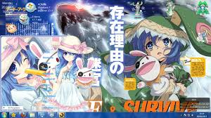 live themes windows 7 theme win 7 date a live v4 ver yoshino by kanza themes anime
