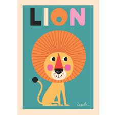 poster für kinderzimmer poster mit löwe kinder löwin poster und