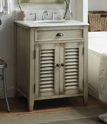 Cottage Style Bathroom Cabinets by 26