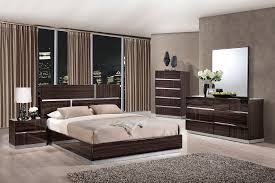 Strata Bedroom Furniture by Tribeca Wood Grain Glossy Bedroom Set By Global Furniture