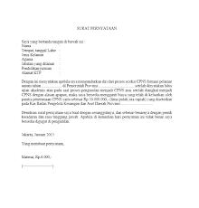 contoh surat pernyataan untuk melamar kerja contoh surat pernyataan kerja yang baik dan benar kumpulan contoh