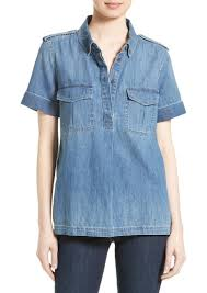 chambray blouse equipment equipment rory chambray shirt casual shirts shop it