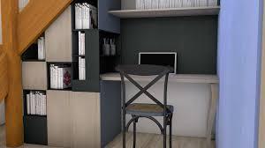 bureau sous escalier amenagement bureau sous escalier maison design sibfa com