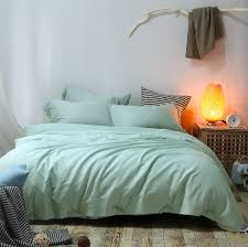 Mint Green Comforter Compare Prices On Solid Green Bedding Online Shopping Buy Low