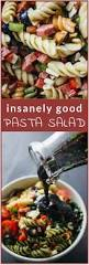 insanely good pasta salad recipe pasta salad bell pepper and