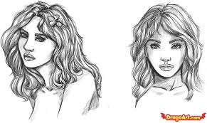 how to draw a face step by step faces people free online