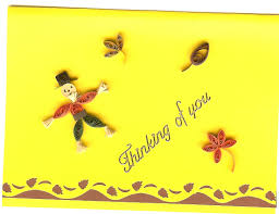 thinking of you on thanksgiving quilling with whimsiquills