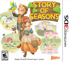 Harvest Moon Tale Of Two Towns Main Dish - amazon com story of seasons nintendo 3ds xseed jks video games