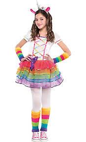 Animal Halloween Costumes Kids Girls Rainbow Unicorn Costume Costumes