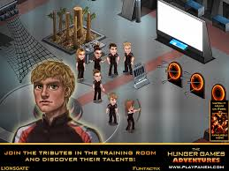 the hunger games adventures for ipad will immerse you in the world
