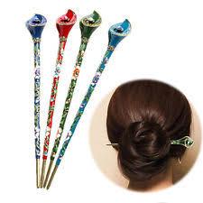 hair plait with chopstick women s hair sticks ebay