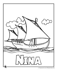 columbus day coloring pages classroom jr cc history