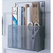 Paper Organizer Wall Mount - Kitchen cabinet door organizer