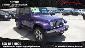 jeep purple 2017 new 2017 jeep wrangler unlimited unlimited sahara sport utility in