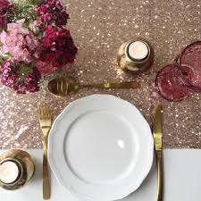 gold christmas table runner table runners the sweet party shop