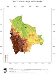 Map Of Bolivia South America by Map Bolivia Ginkgomaps Continent South America Region Bolivia
