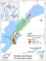 Utm Zone Map Uex Corporation Drill Program Underway At Christie Lake Junior