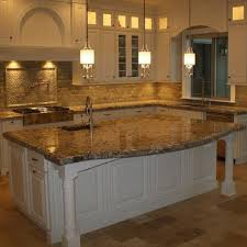 granite natural stone slab kitchen countertops ogee edge detail