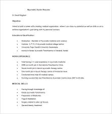 Medical Scribe Resume Example by Doctor Resume Template U2013 16 Free Word Excel Pdf Format Download