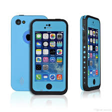light blue iphone 5c case new waterproof shockproof dirtproof snowproof protection case cover