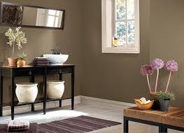 attractive colour combination in small room and kitchen also