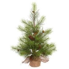 vickerman unlit 30 x 23 white pine artificial tree