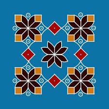 rangoli patterns using mathematical shapes easy rangoli designs with dots