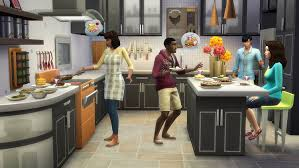 cool kitchens the sims 4 cool kitchen stuff pc code origin amazon co uk pc