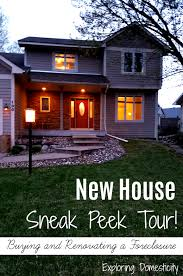 new house sneak peek tour exploring domesticity