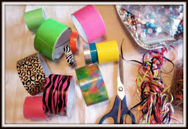 double treble craft adventures 20 fashion duct tape crafts