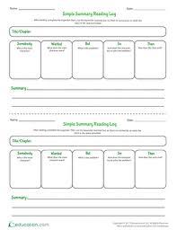 reading worksheets u0026 printables education com