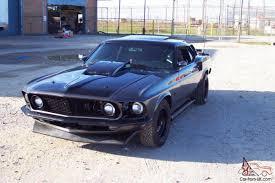 Black 69 Mustang Fastback Ford Mustang Base Fastback 2 Door 7 0l