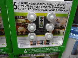 led puck lights costco capstone led puck lights