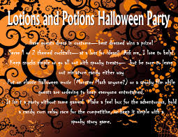 lotions and potions halloween party with pure romance by brie