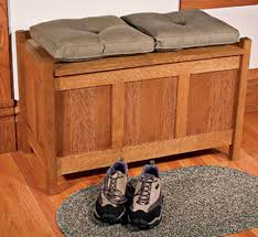 wood storage bench treenovation