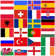International Bunting Flags Huge Euro 2016 Country Flag Bunting National Flags Banner Football