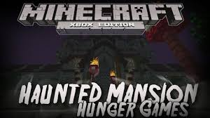 minecraft xbox 360 one haunted mansion hunger games w download