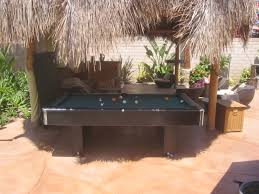 backyard pool table part 41 best 25 outdoor pool table ideas